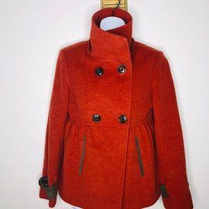 Anthropologie Millard Fillmore cashmere wool Coat